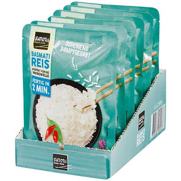 Testsieger und sehr gut im Test von Öko-Test 7/2020: Satori Asian Style Basmati Reis