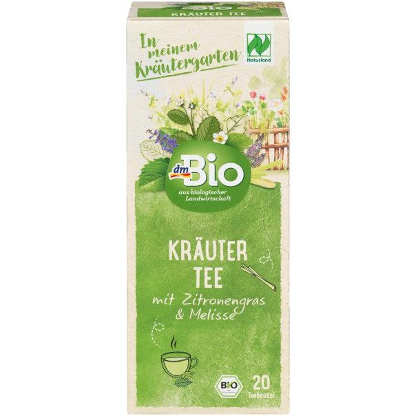 Testsieger und sehr gut im Test von Öko-Test 09/2021: dmBio Kräuter-Tee Zitronengras & Melisse (dm)