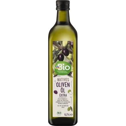 gut im Test von Öko-Test 11/2021: dmBio natives Olivenöl extra, 750 ml (dm)