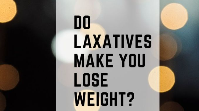 Meaning of laxatives