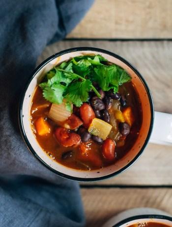 Harvest Pumpkin Beer Stew | Well and Full | #vegan #recipe #pumpkin