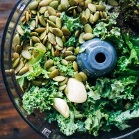 The Best Vegan Kale Pesto