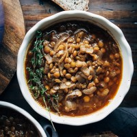 Vegan French Onion Stew
