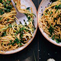 Zucchini Aglio e Olio
