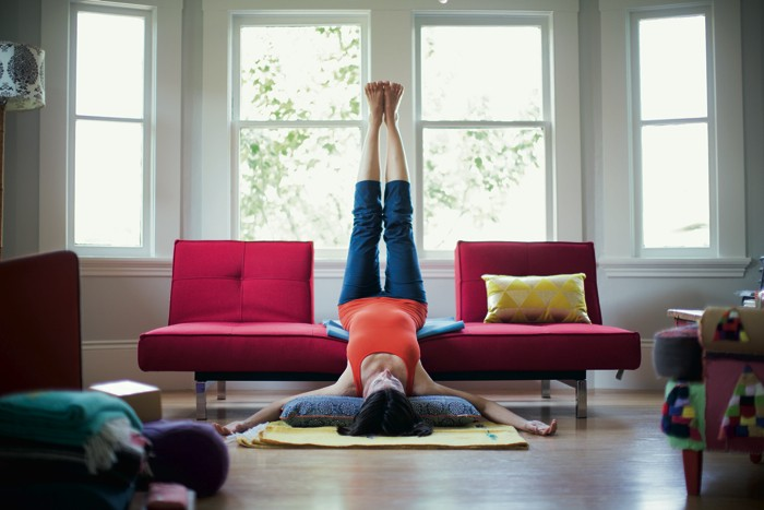 How to create a yoga practice at home  WellGood