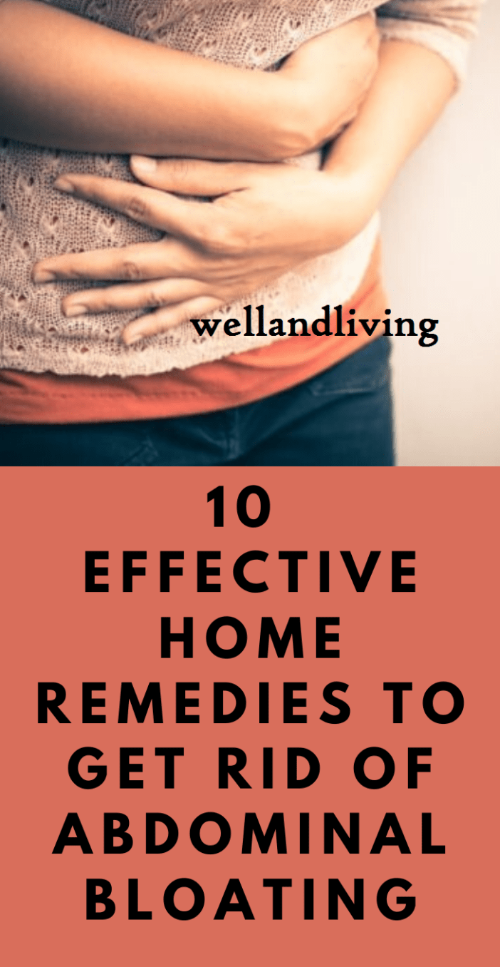 10 Effective Home Remedies to Get Rid Of Abdominal Bloating