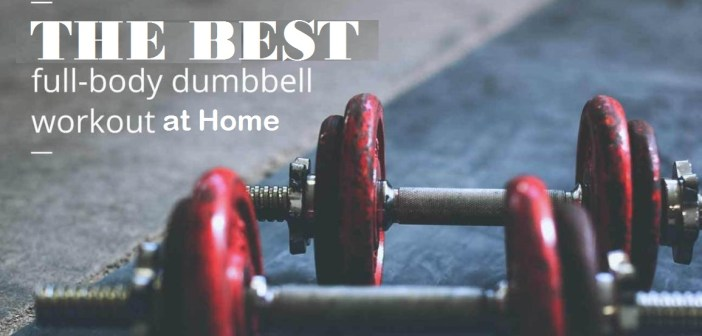 11 Best Full Body Beginner Workout at Home with Dumbbells