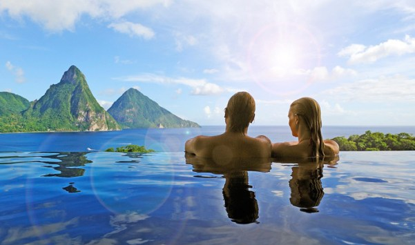 Jade Mountain, St. Lucia For Couple's vacation