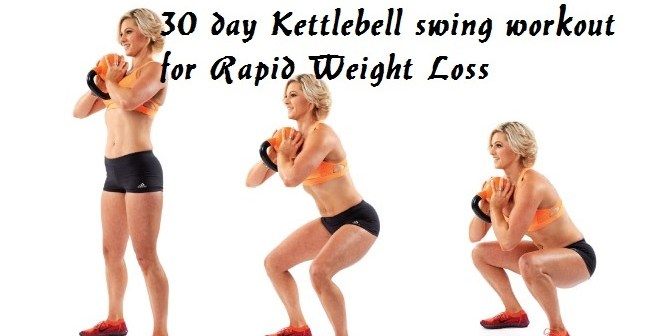 30 Day Kettlebell Swing Workout Challenge for Rapid Weight Loss