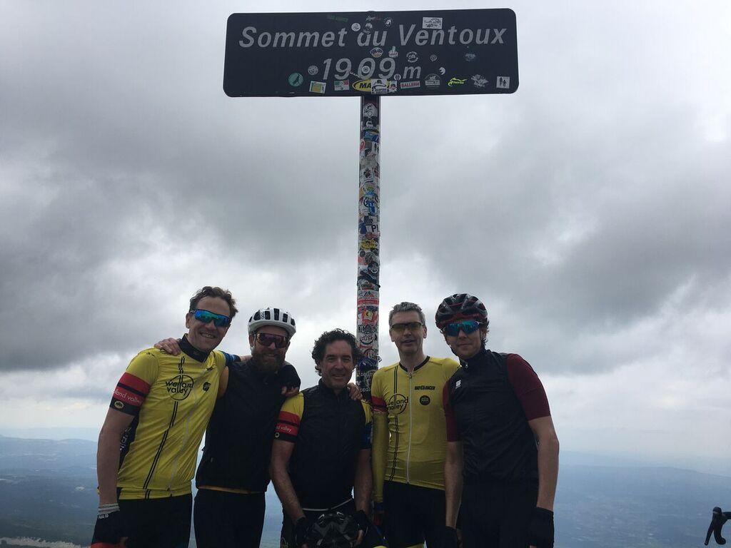 Ventoux summit