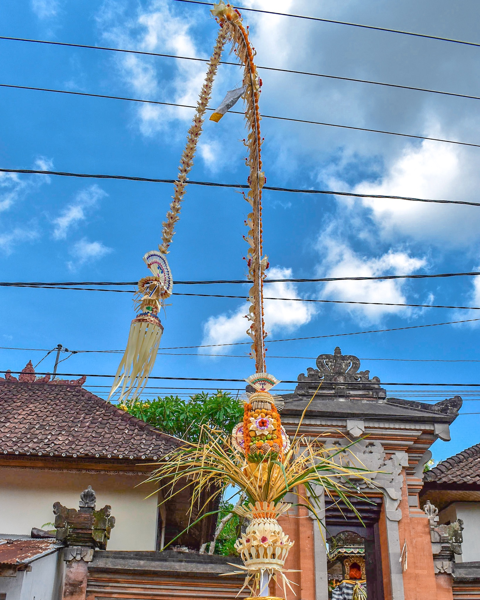 Galungan Day Decorations in Bali