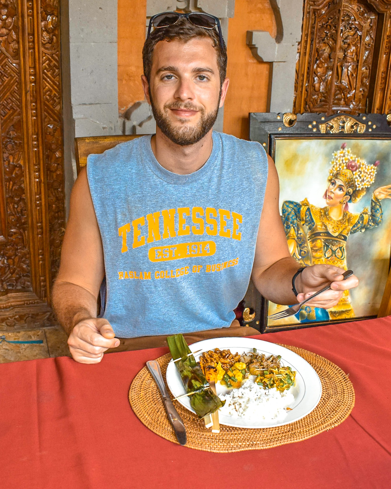 Man Enjoys Cooking Class in Bali