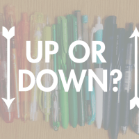 Ask The Desk: Storing Pens Up or Down?