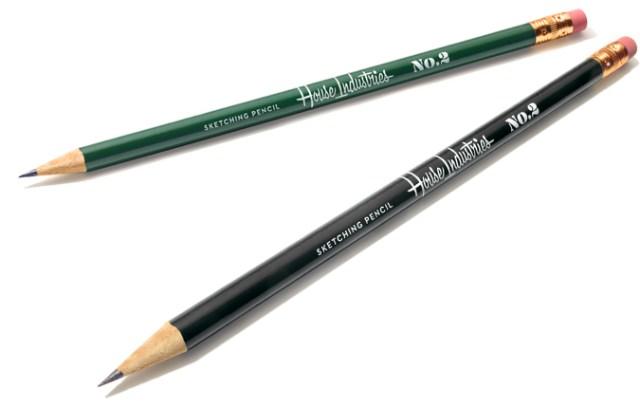 House Industries Pencils