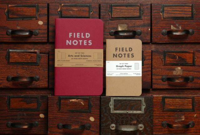 Field Notes Arts & Sciences Edition Size Comparison