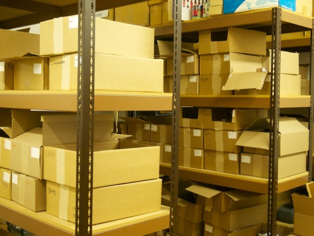 Field Notes stock room