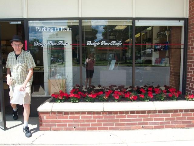Daly's Pen Shop Front Window