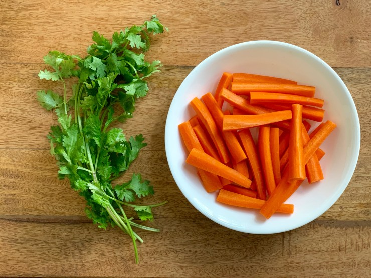 Cilantro Lime Carrots - 1