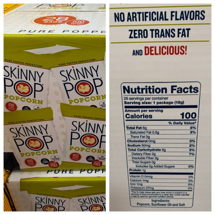 Costco Skinny Pop