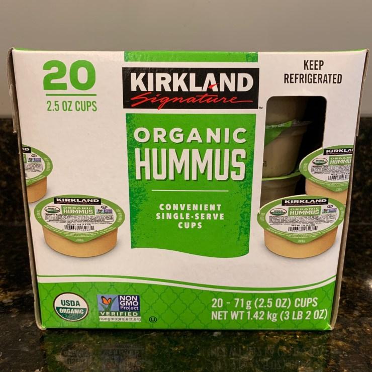 Costco Kirkland Organic Hummus