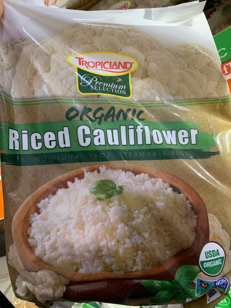 Costco Tropicland Organic Riced Cauliflower