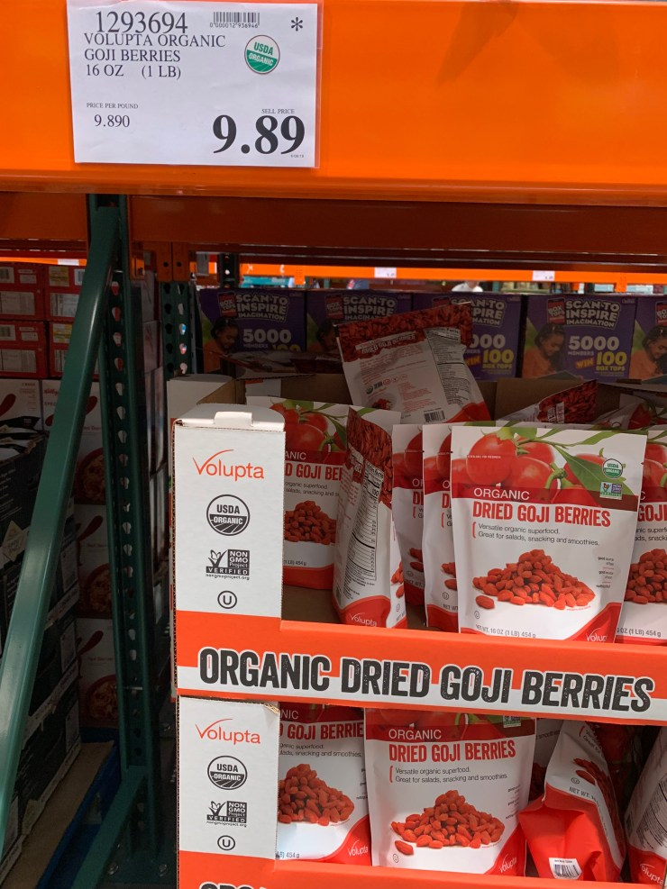 Costco Volupta Organic Goji Berries