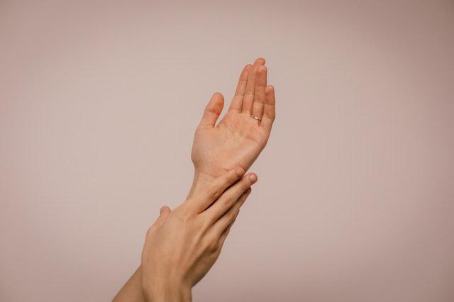 Handen aaien