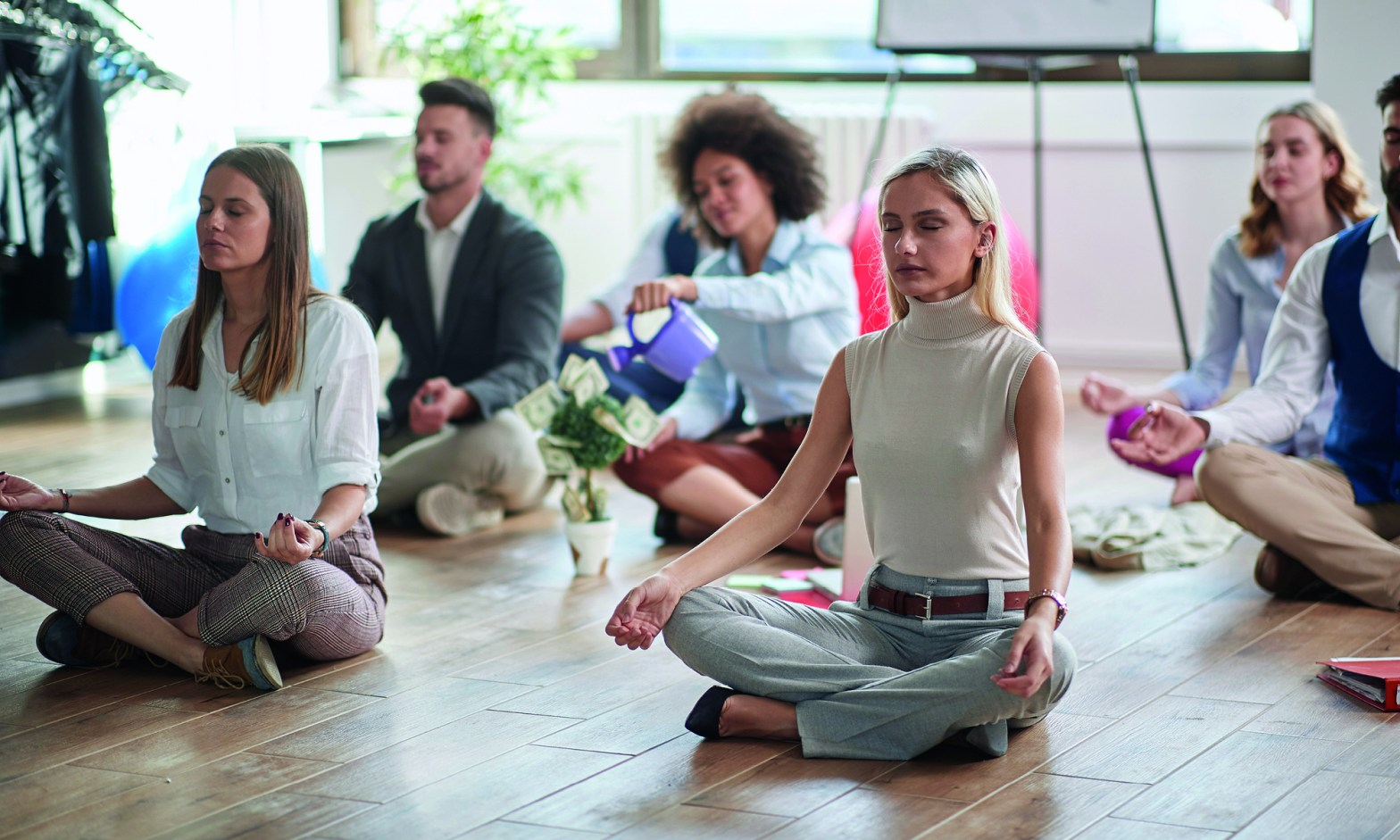 Wellbeing in the office