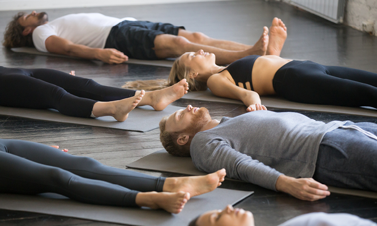 Yoga - Wellbeing in Your Office