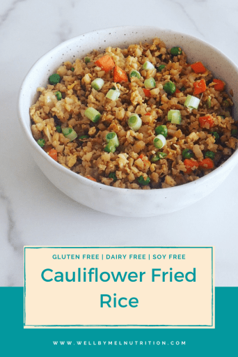 cauliflower fried rice pin