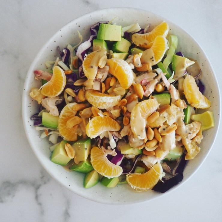 chicken & mandarin salad