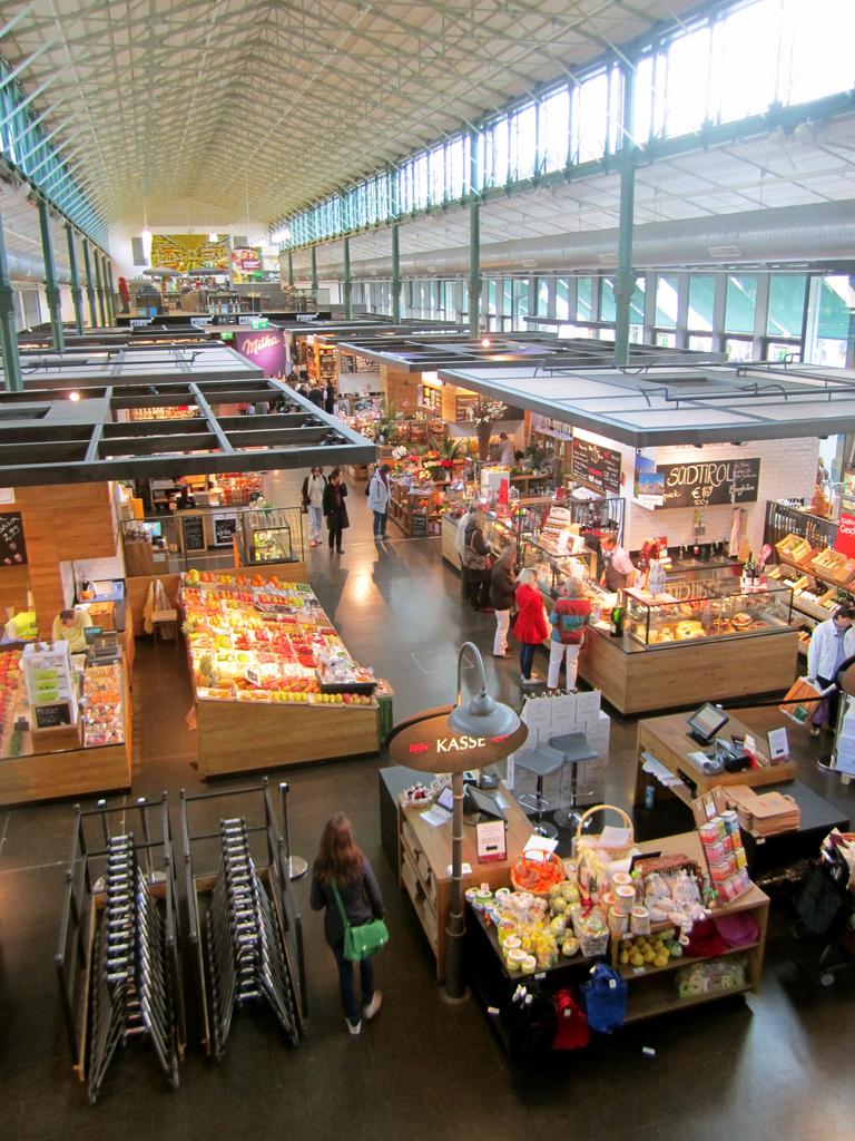 Schrannenhalle, market hall