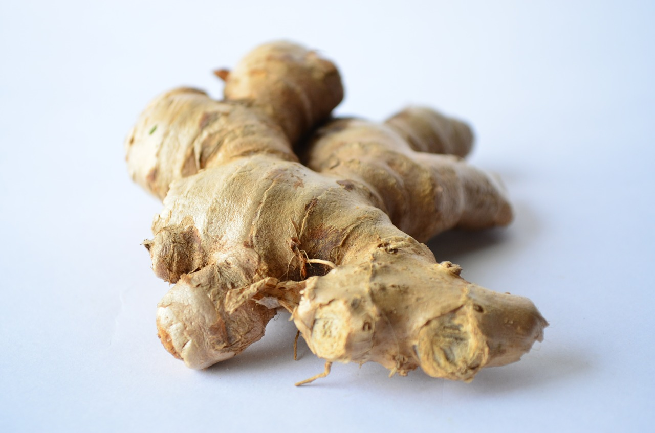 spices ginger photo