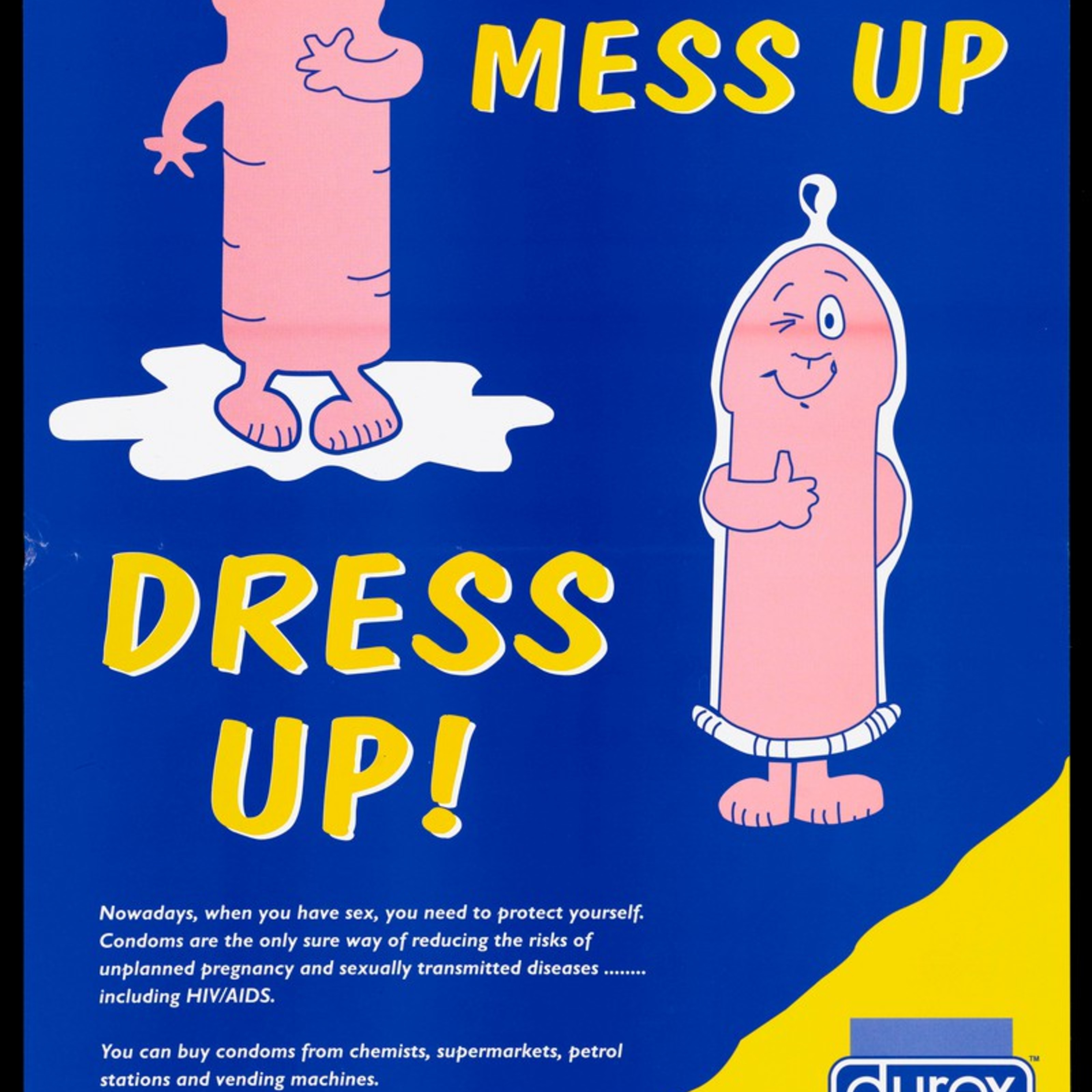 aids awareness posters from