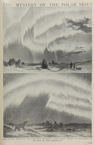 Writing about the northern lights was often couched in terms of their mystery, even in scientific publications.