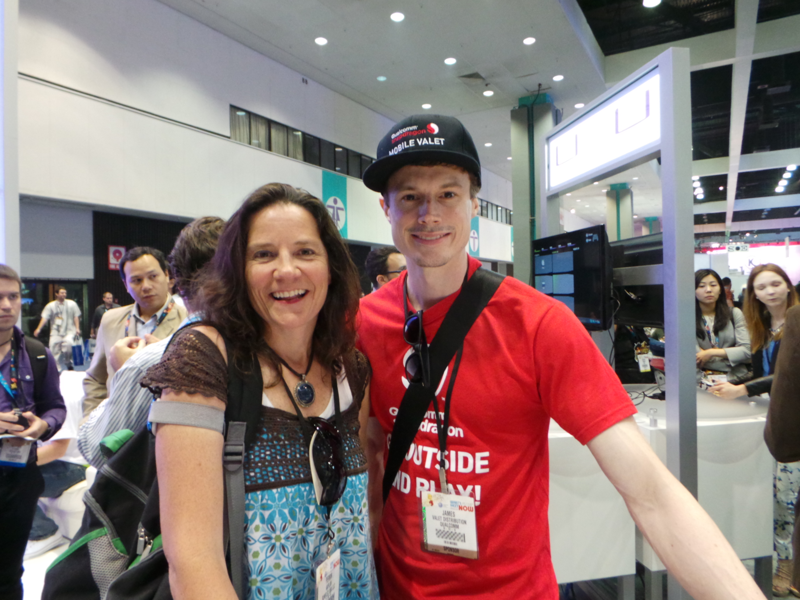 A Big Thanks to Qualcomm at E3! - The Well Connected Mom