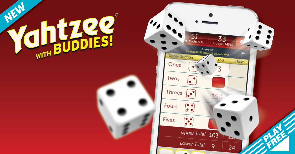 Yahtzee with Buddies - The Well Connected Mom