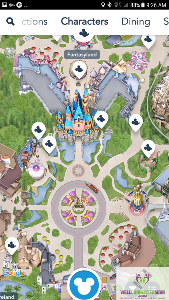 Disneyland App Saves Time - The Well Connected Mom