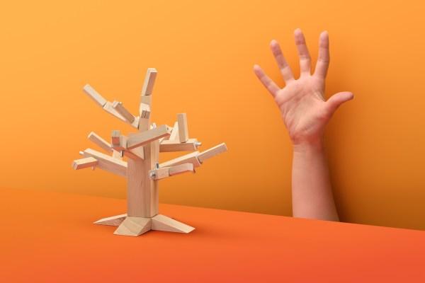 Puzzle 3D w kształcie drzewa