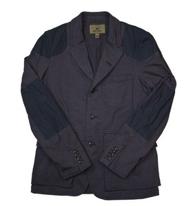 Nigel Cabourn Mallory jacket in jersey fabric.