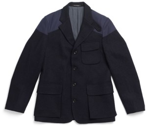 Nigel Cabourn Mallory jacket in Harris Tweed and Ventile.