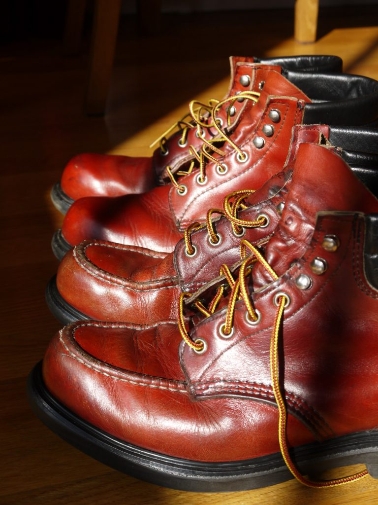 Almost identical, apart from the style of the toe. Similar vintage as well, though different levels of use.