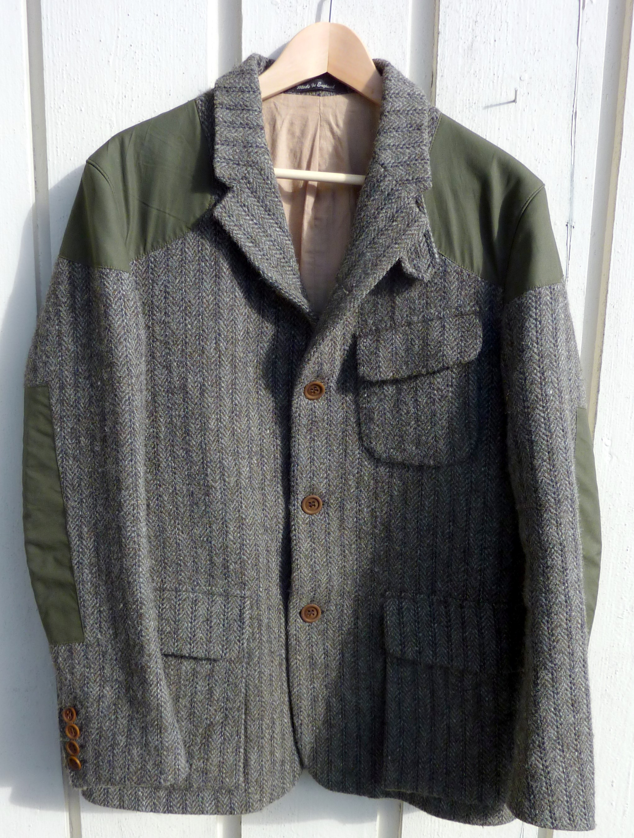 c2a0a805187d7f Outerwear  Nigel Cabourn Mallory jacket in Harris Tweed - Well ...