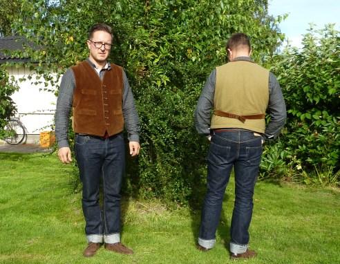 cabourn corduroy farm vest