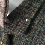 Tweed jacket upcycle project: Day two – the front room