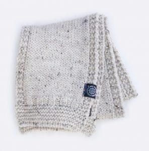 "The ""Soft Wash"" wool scarf."