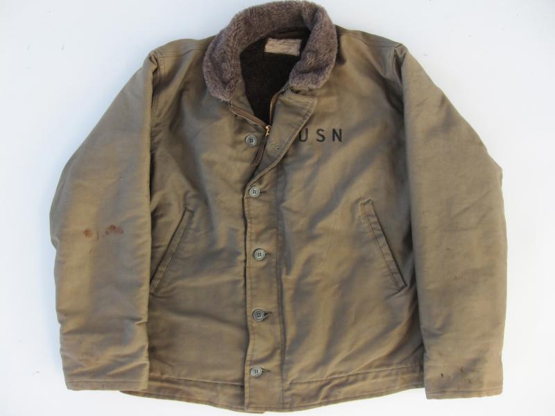 N1 deck jacket from the Korean war period.