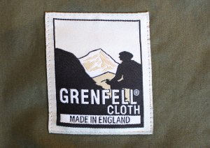 The classic logo of Grenfell Cloth.