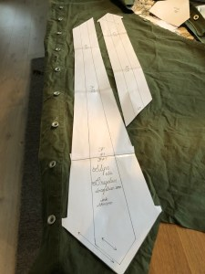 Using a tie pattern from bragelius.com.