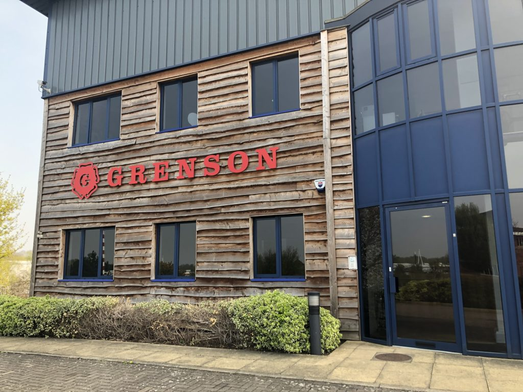 The modern factory that Grenson moved into in 2013.